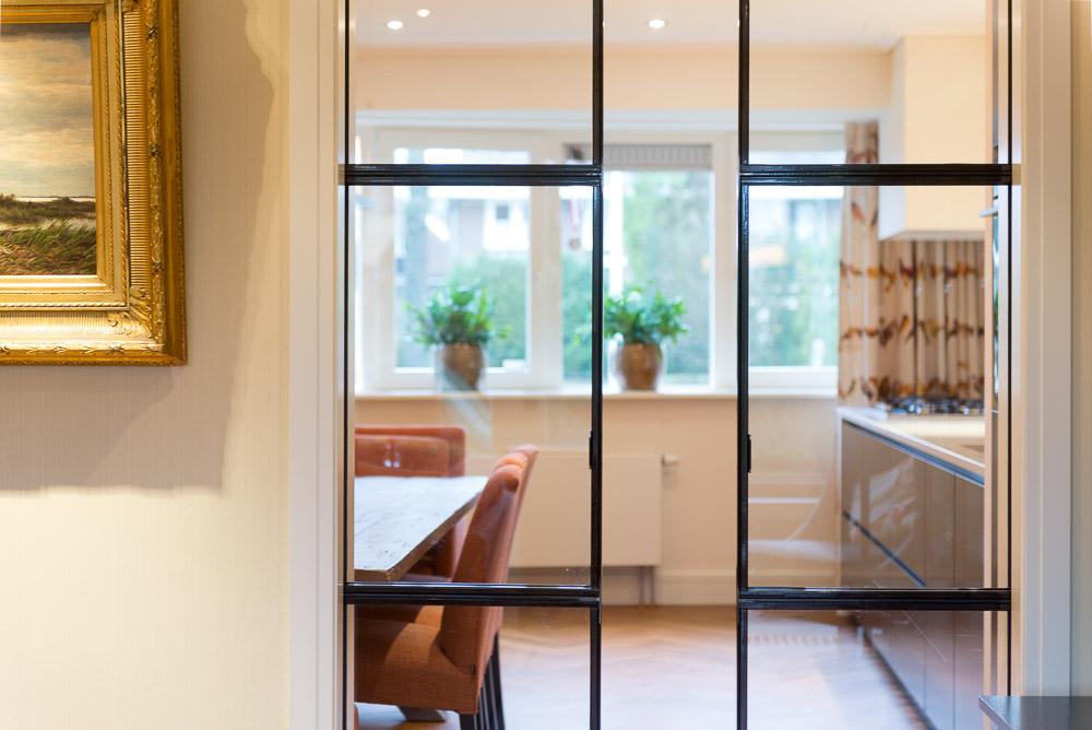 Glazen Schuifdeur Met Staal.Stalen Binnendeuren Op Maat