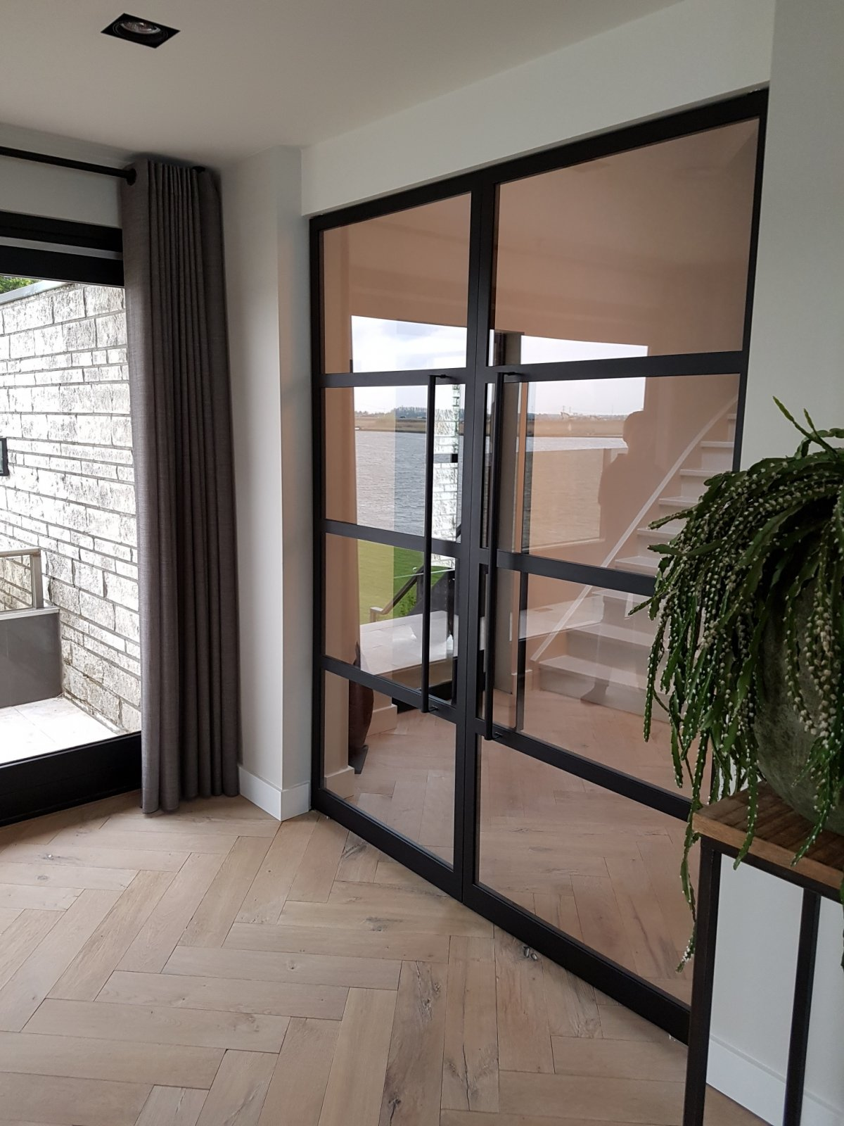 Dubbele binnendeuren met glas?