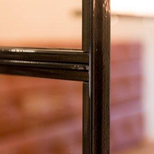 Stijlvolle stalen en suite deur