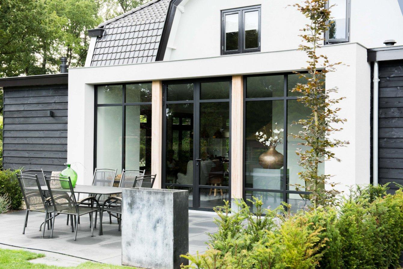 Stalen achterdeur door Stalendeuropmaat.nl