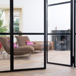 Stalen binnendeur met glas Amersfoort